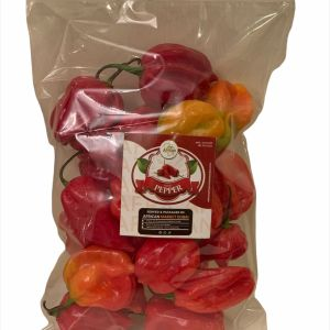 Scotch Bonnet Fresh African Red Pepper (1 pack)