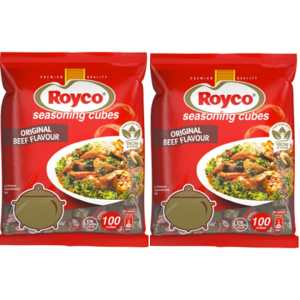 Royco Beef Seasoning (100 Cubes)