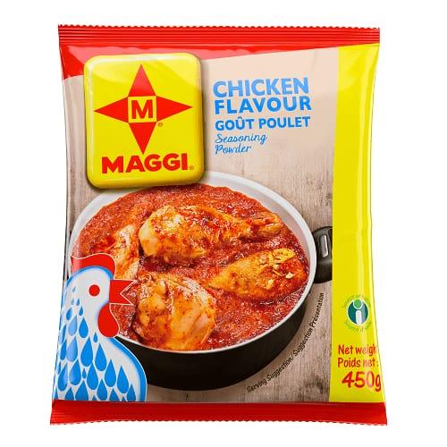 Maggi Chicken Flavour Seasoning Stock Powder - 450g