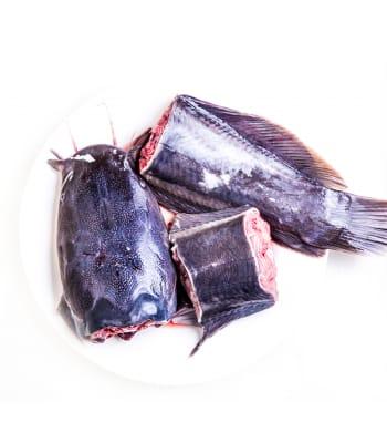 Fresh frozen Nigerian Catfish 1kg