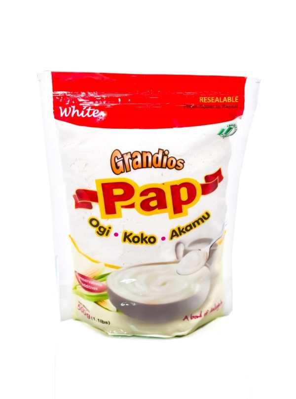 Grandiose Pap - White