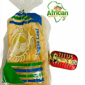 Agege bread and Titus Sardine
