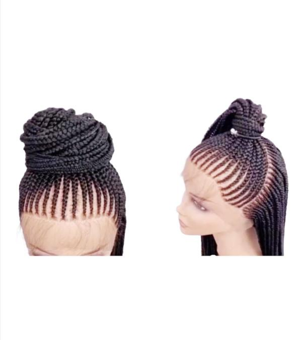 Full Lace Shuku Braided Wig (20-24 inches)