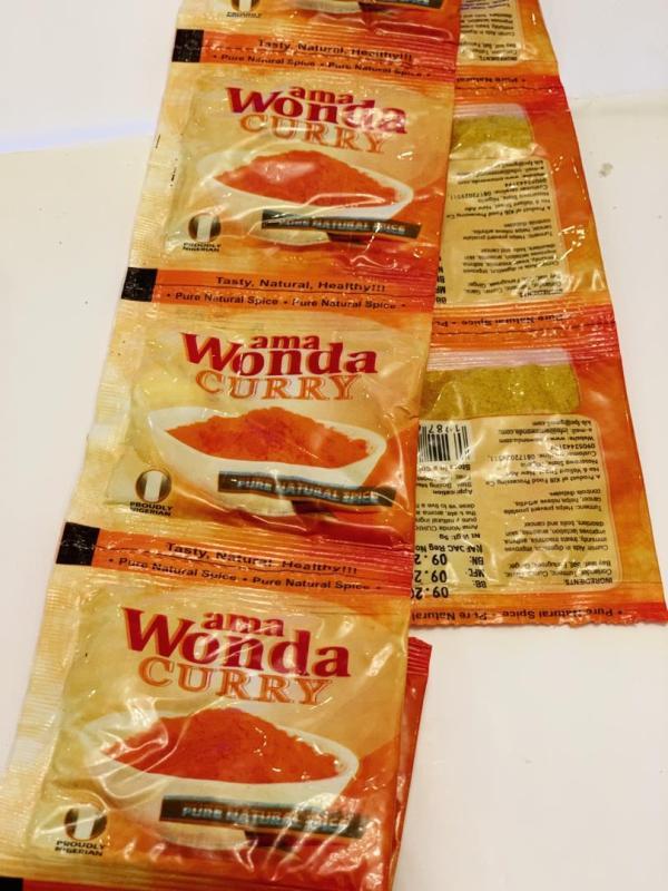 Ama Wonda Curry Satchet 5g X 3