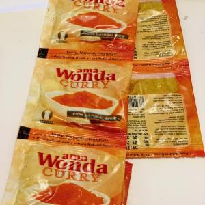Ama Wonda Curry Satchet 5g X 3