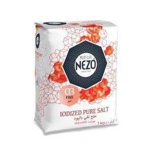 Nezo Iodized pure salt 1kg