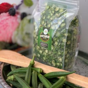 Organic sliced okro (lady finger) 1kg