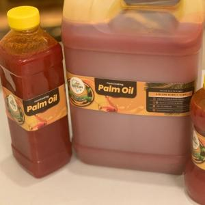 Unadulterated Red Palm Oil 5 litres