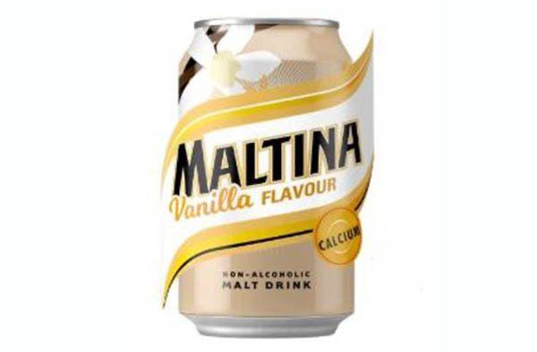 Maltina Vanilla Flavour x 1 Can