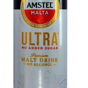 Amstel Malta No Added Sugar x 1 can