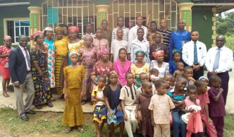 A 10 weeks old church at Ikot Osute planted by my WBSET