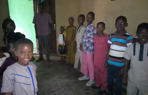 Children class at Ikot Osute on Feb 18,2018