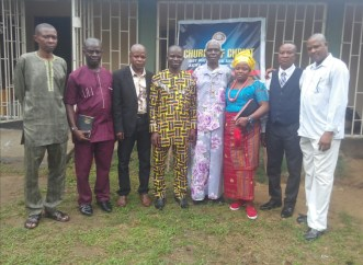 Village Chief at my left hand side with his council members2