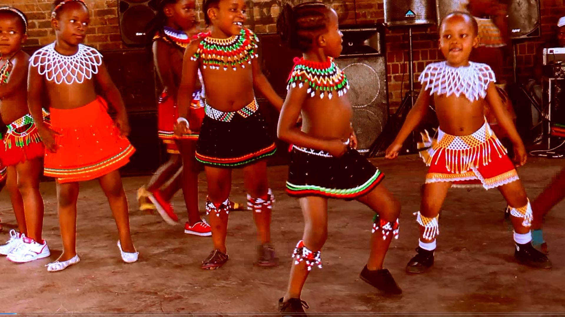 Video African Kids Can Dance