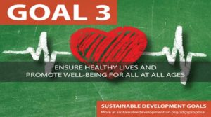 Ensure healthy lives and promote well-being for all at all ages by 2030