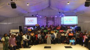 Youth delegates at the first Nigerian Youth SDGs Summit