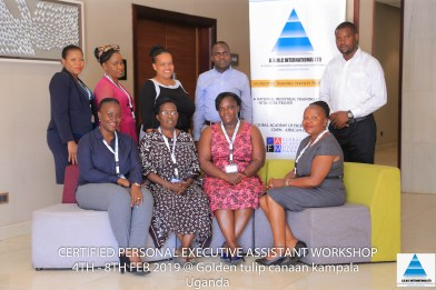 CPEA UGANDA 2019 - CERTIFIED PERSONAL EXECUTIVE ASSISTANT