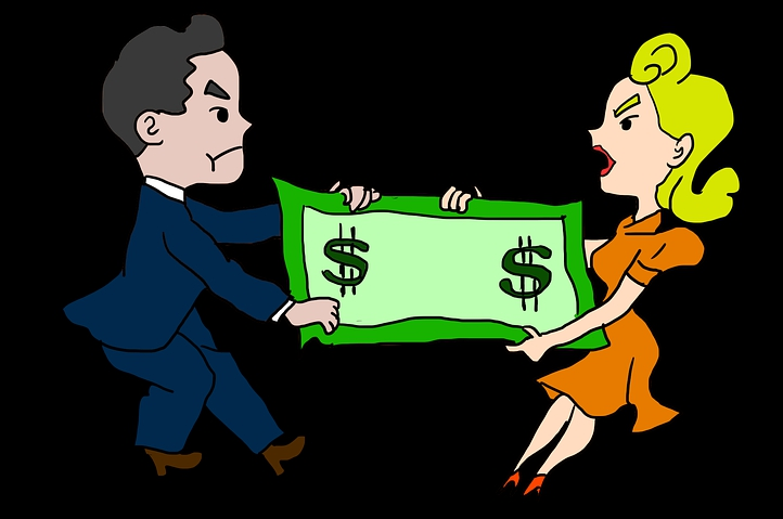 Financial problem in marriage