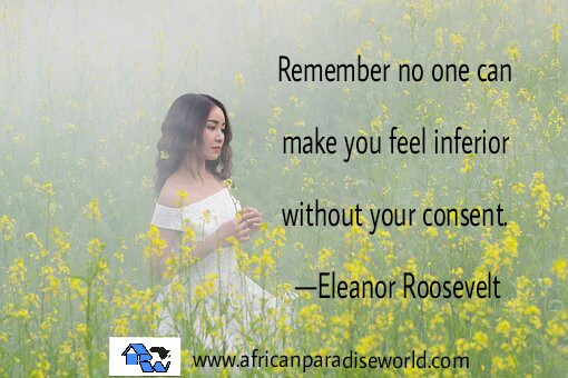 eleanor roosevelt inferior quote