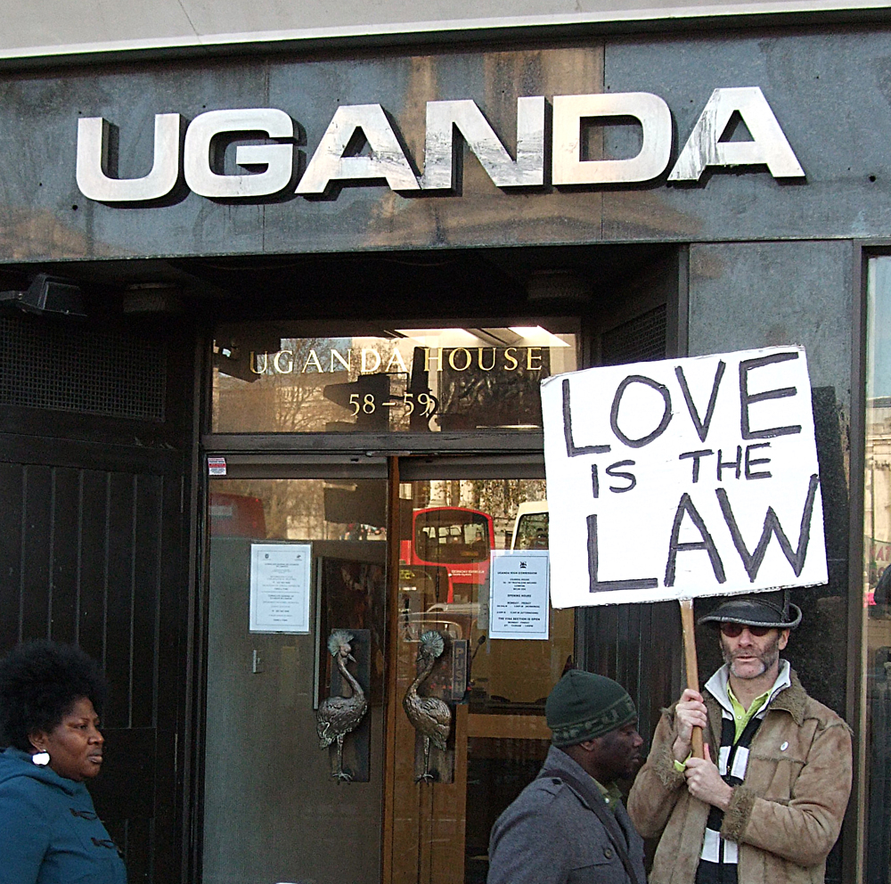 Homosexuality is illegal in Africa