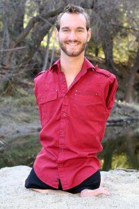 Motivational speeches: Nick Vujicic