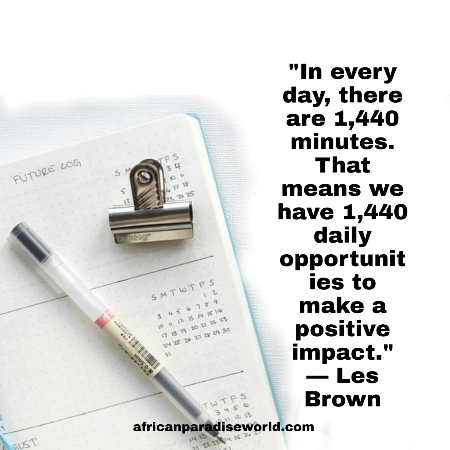 Thoughts of the day quotes from Les Brown