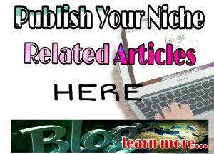 You can publish your guest post here on my Christian blog
