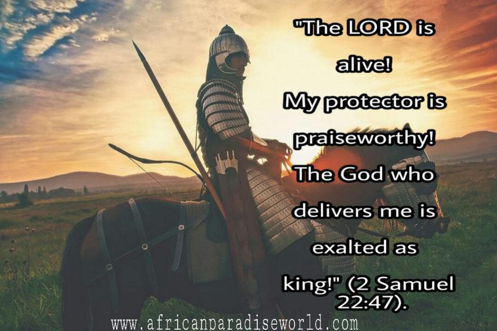 Your greatest helper as a Christian is God. Open your Bible and feed on verses for protection. Stay safe forever.