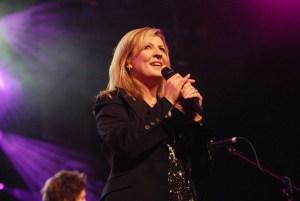 Darlene performing live