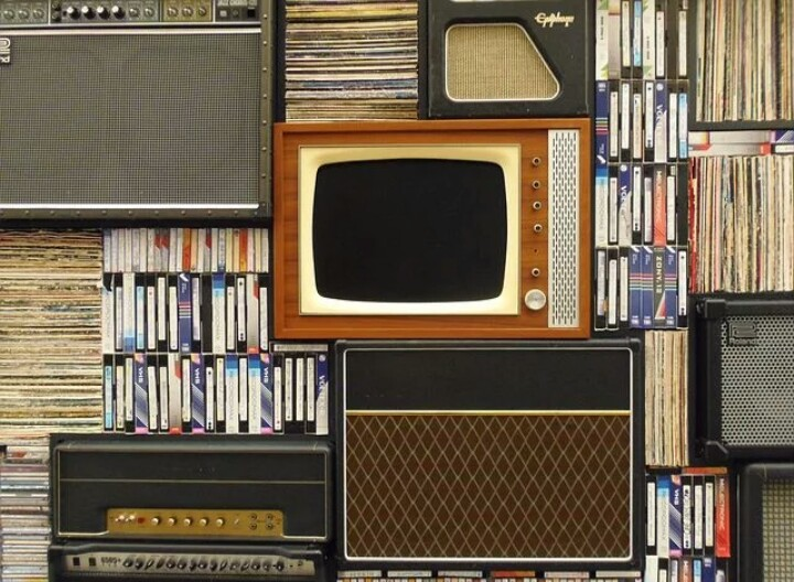 Television set ready for your best Christian movies