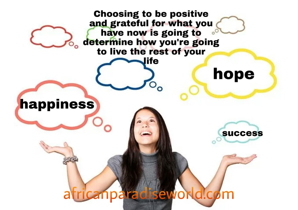 Choosing to be positive quote