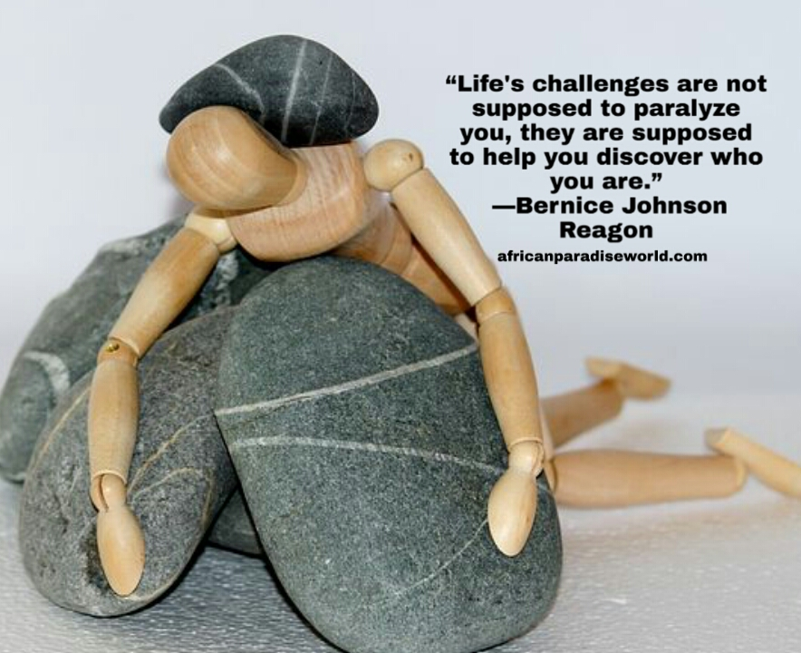 Life challenges quote