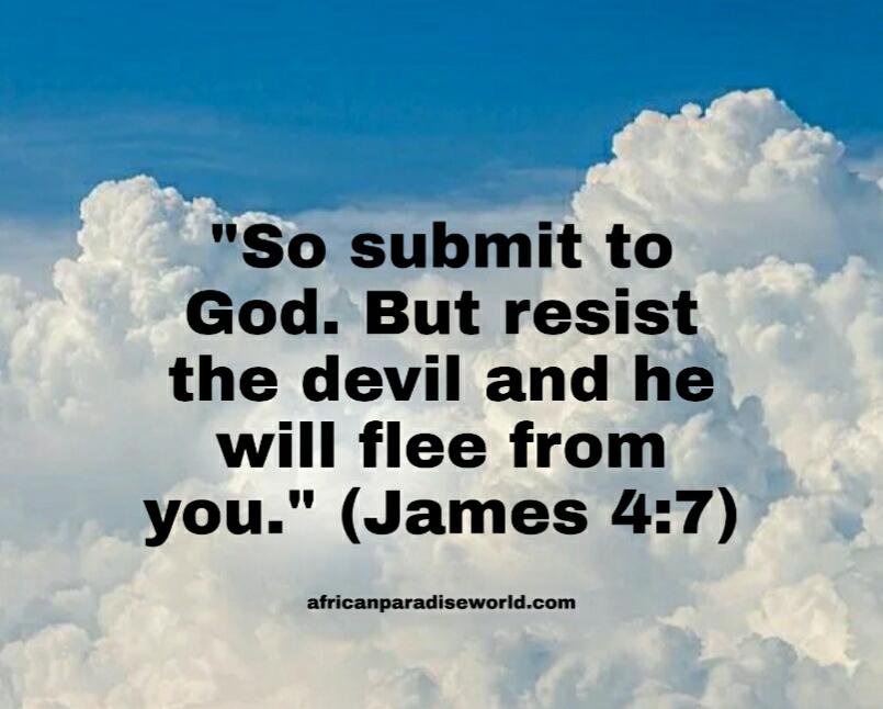 Draw close to God Bible verse