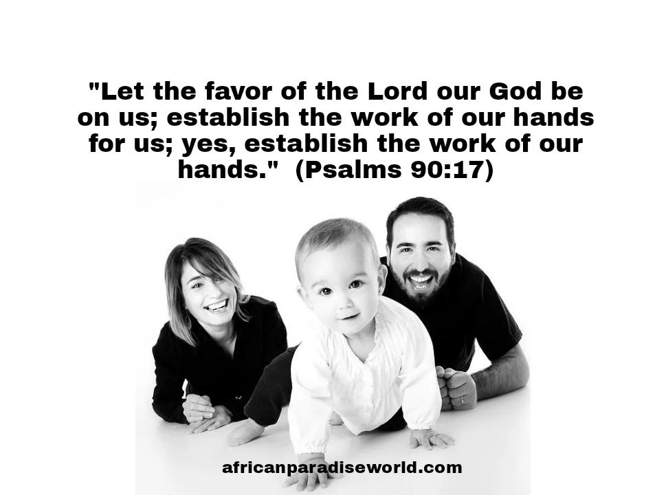 God's favor Bible verse