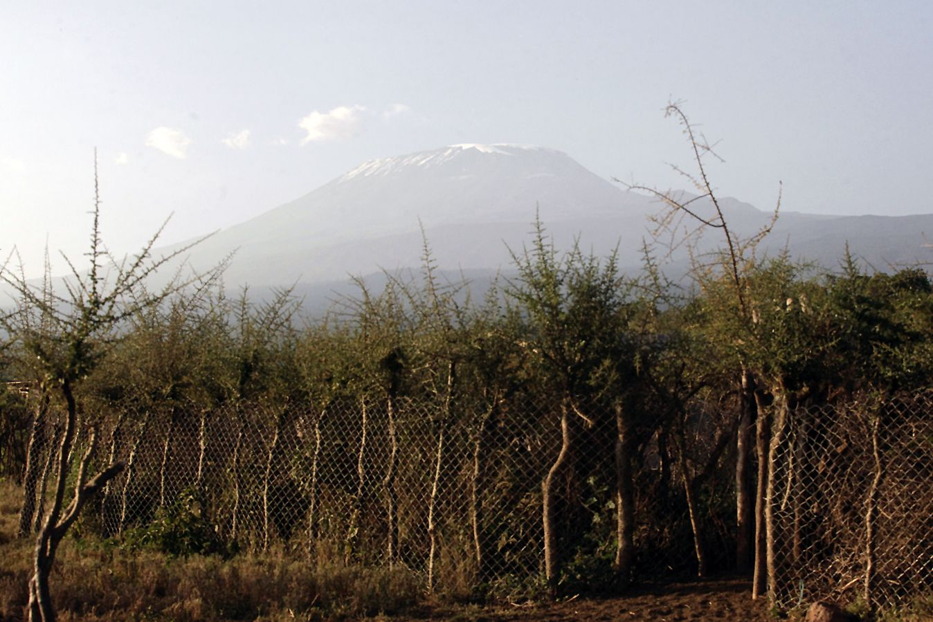 The West Kilimanjaro landscape in northern Tanzania
