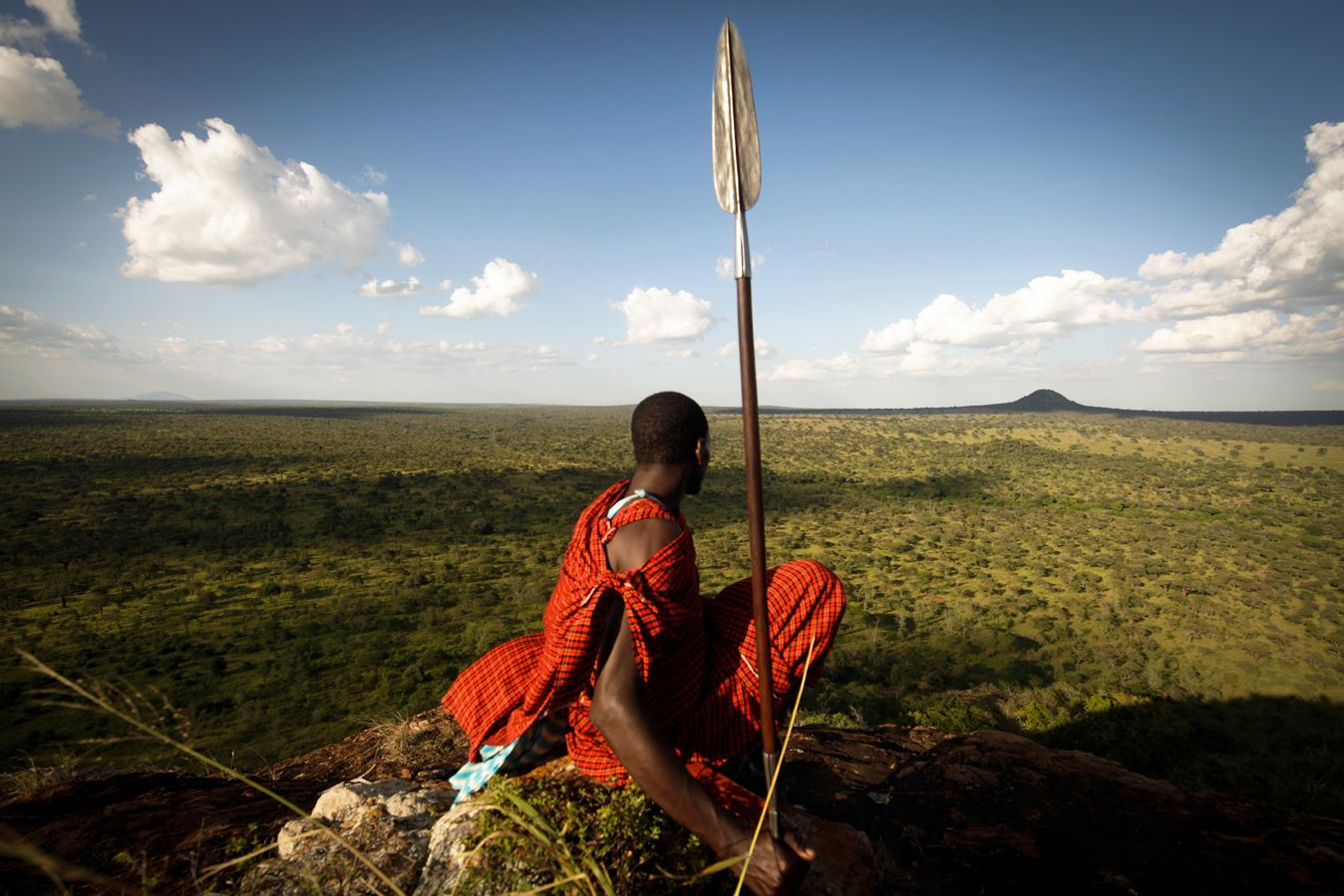 The Maasai Steppe in northern Tanzania