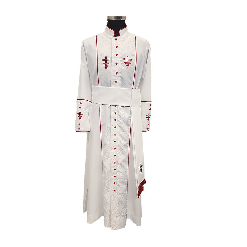 Cassock Damask with Cincture