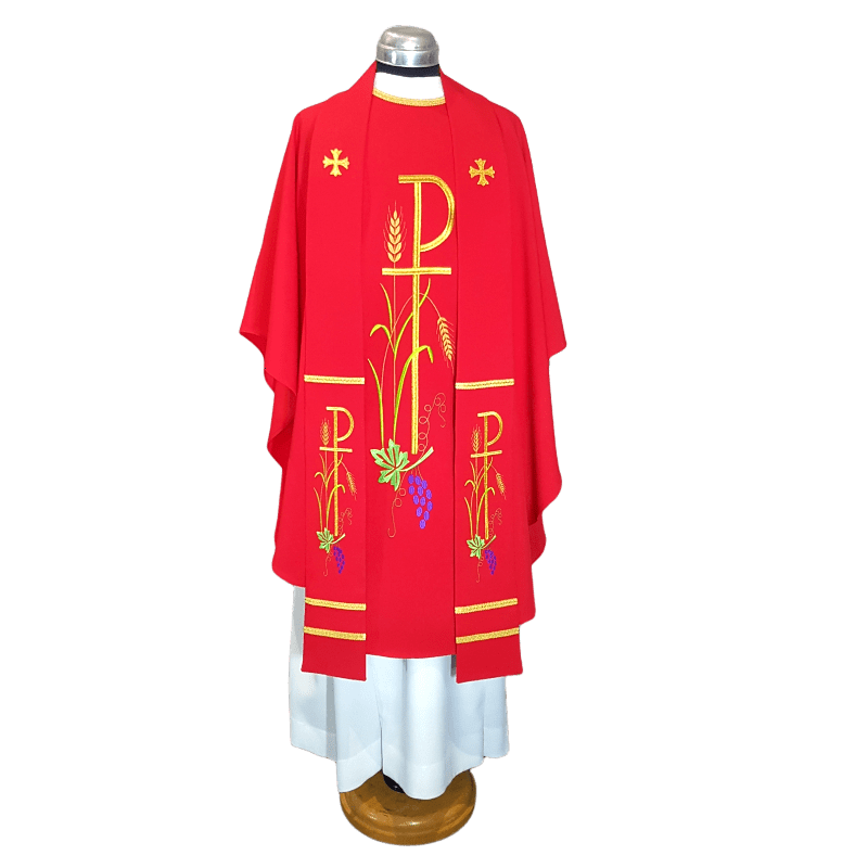 CHASUBLE & STOLE CHI RHO