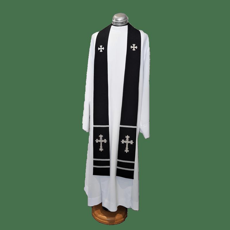 2 Point Stole Decorative Cross