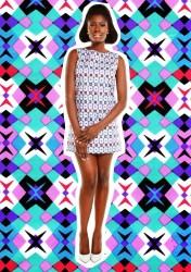 african prints 60s sixties retro print goes inspired based brand williams racheal lookbook meets