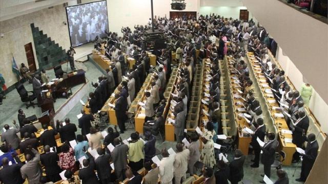 south sudan parliament