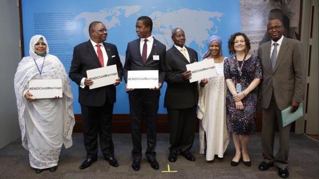 Presidents of Zambia, Uganda and Malawi renew efforts to end child marriage