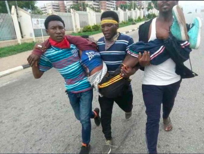 Shiite members involved in the clashes in Nigeria capital, Abuja