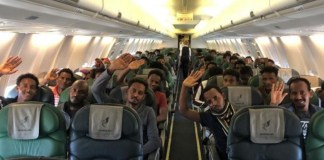 First set of migrants evacuated from Libya heads to Rwanda