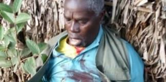 Rwandan Hutu militia leader, Sylvestre Mudacumura