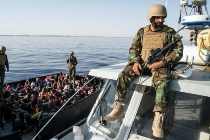 Libyan coastguards shot and killed escaping Sudanese migrant
