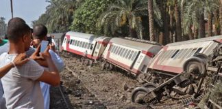 Train goes off track in southern DR Congo killing over 50