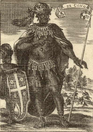 King Afonso of the Kongo Kingdom