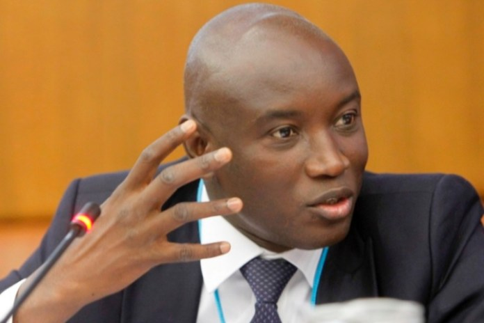 Senegalese interior minister Aly Ngouille Ndiaye