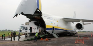 Congo DR official cargo plane missing with 8 people on board